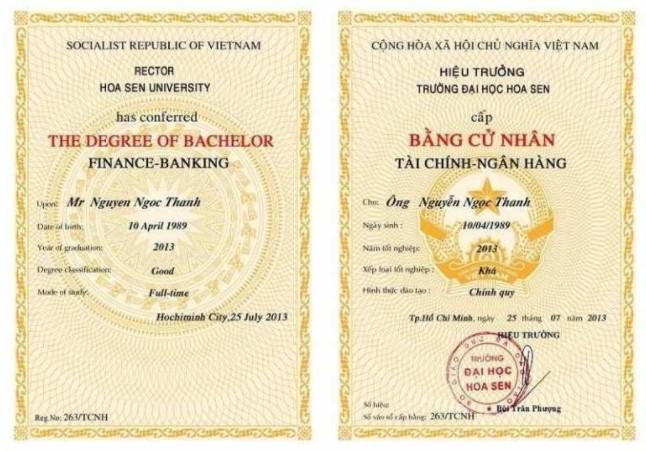 Làm bằng đại học giả Nha Trang luôn bảo mật thông tin khách hàng