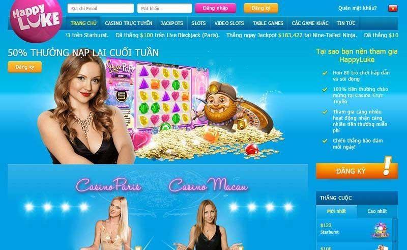 Tại sao HappyLuke là sòng bài casino trực tuyến được tay bài tìm kiếm nhiều nhất?